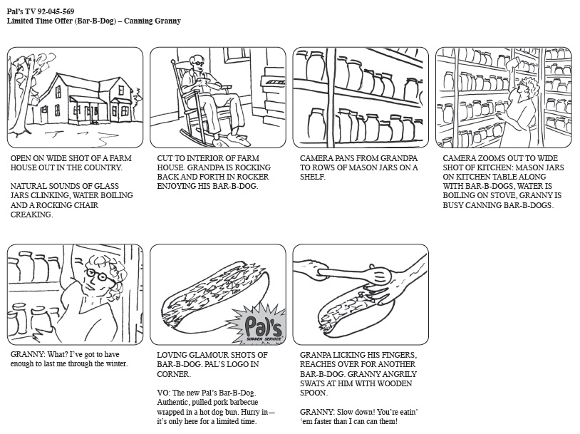 Commercial Storyboard. Bullying Commercial Storyboard 13